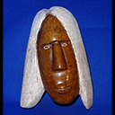Wall plaque Native Bust