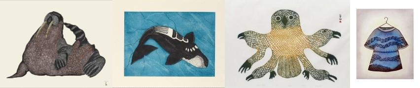 , Inuit Art, Eskimo Art, Inuit Prints, Inuit Art, cape dorset, 2020