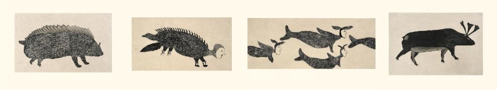 , Inuit Art, Eskimo Art, Inuit Prints, Inuit Art, cape dorset