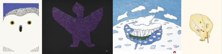 , Inuit Art, Eskimo Art, Inuit Prints, Cape Dorset Print Collection, release, 2020