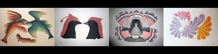 , Inuit Art, Eskimo Art, Inuit Prints, Cape Dorset, Print Collection